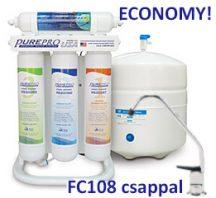 PurePro ERS105P RO víztisztító nyomásfokozóval QUICK CHANGE